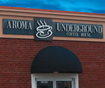 SIGN 2000 Letters�Aroma Underground Cast Letters