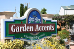 Garden Accents Laser Cut Acrylic Sign