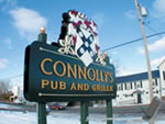 Formed Plastic Letters on sign Formed Plastic Letters - Connollys - Formed Plastic Letters