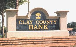 Foam Signs Foam Signs Foam Signs - 260 clay county bank - Foam Signs