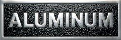 Polished Aluminum Plaque Materials - Gemini Alum Polish - Materials