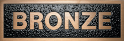 Satin Bronze Plaque Materials - Gemini Brnz Nat Satin - Materials