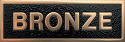 Polished Bronze Plaque Materials - Gemini Brnz Polish - Materials