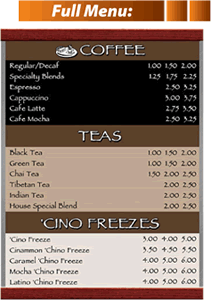 Menu Systems - fullmenu - Menu Systems