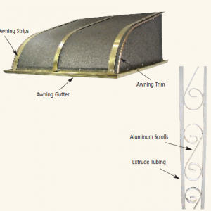 Clear Brass Awnings - aluminum awning 300x300 - Clear Brass Awnings