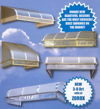 Clear Brass Awnings Clear Brass Awnings