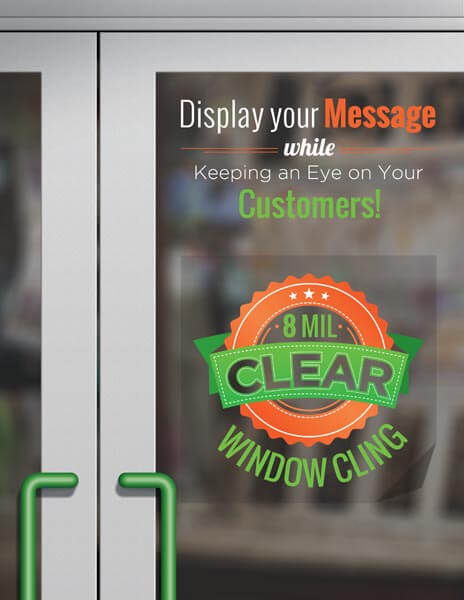 custom signs - WindowCling 02 - Custom Signs, Banners, Car Magnets and More – Sign 2000